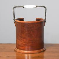 Victorian Mahogany Plate Bucket by Hussey's (3 of 8)