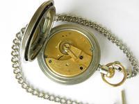 Antique Waltham Pocket Watch & Chain (3 of 4)