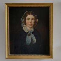 Pair of Victorian Oil Portraits (2 of 6)