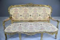 Louis XV Style Gilt Sofa (6 of 12)