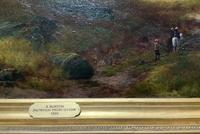 (2of2) Huge Magnificent 19thc Snowdonia Mountain Welsh Landscape Oil Painting (6 of 13)