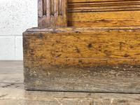 Large Victorian Oak Wellington Chest of Drawers by Shoolbred (9 of 13)
