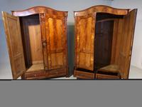 Quite Exceptional Pair of Mid 19th Century North European Wardrobes (2 of 7)
