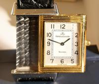 Jeager le Coultre Reverso Ladies Watch in Gold & Steel (5 of 6)
