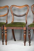 6 Harlequin Victorian Rosewood Dining Chairs (7 of 11)