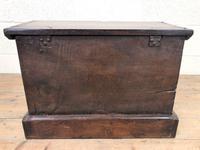 Antique Carved Oak Coffer (7 of 7)