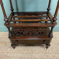 Victorian Rosewood Antique Canterbury (7 of 7)