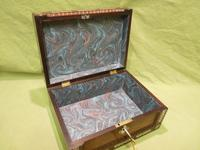 Inlaid Rosewood Table Box / Jewellery Box c.1840 (11 of 12)