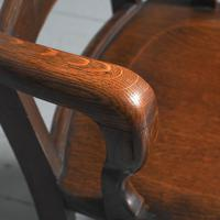 Rare Antique Set of 34 American Oak Chairs (13 of 15)