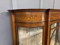 Maple & Co Inlaid Mahogany Display Cabinet (5 of 13)