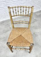 Regency Faux Bamboo Side Chair (3 of 6)