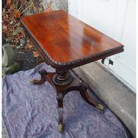 Classical Regency Rosewood Card Table (3 of 9)