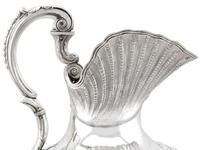 Irish Sterling Silver Water / Wine Jug - Antique William IV 1834 (8 of 15)