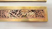 "Pair Tiffany Studios 12"" Brass Plated Desk Set  Blotter Ends 998  Grapevine (11 of 15)"