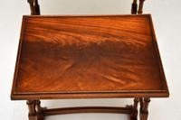 Antique Georgian Style Mahogany Nest of Tables (6 of 10)