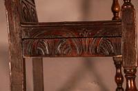 Good 17th Century Wainscot Armchair (13 of 13)