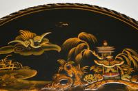 Antique Lacquered Chinoiserie Occasional Table (9 of 12)