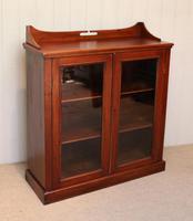 Mahogany Display Bookcase (7 of 9)