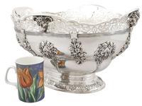 Sterling Silver Presentation Bowl - Antique George V 1918 (3 of 12)