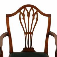 Set of Eight Hepplewhite Chairs (8 of 9)