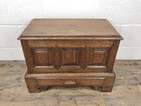 18th Century Style Welsh Oak Coffer Bach (2 of 12)
