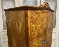 Queen Anne Burr Walnut Fitted Wardrobe (6 of 15)