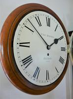 """Fabulous 12"""" English Fusee Dial Timepiece by Thomas & Edmund Rhodes 1868 (3 of 9)"""