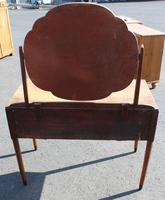1940s Walnut Dressing Table with Central Mirror (3 of 4)