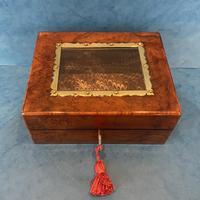Victorian Walnut Display Box (11 of 11)
