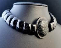 Antique Victorian Whitby Jet Choker Necklace (4 of 11)