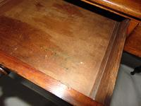 Georgian Mahogany Galleried Side Table (5 of 8)