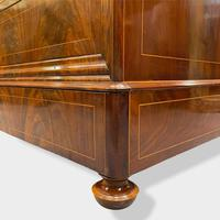 Exceptional Quality Inlaid Marble Top Commode (5 of 12)