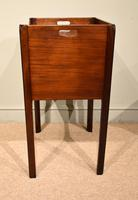 George III Tambour Fronted Bedside Table / Commode (4 of 7)