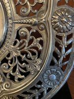 Brass Cased 'Green Man' Mantel Clock (6 of 6)