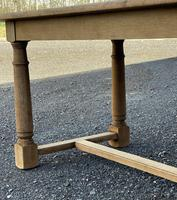 Rustic Bleached Oak Farmhouse Dining Table (23 of 25)