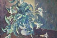 Mid Century Large Still Life Flowers by Bob Vigg (3 of 10)