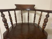 Victorian Ash & Elm Smokers Chair (3 of 10)
