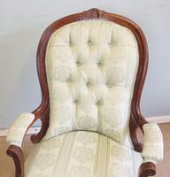 Antique Victorian Gentleman's Armchair (7 of 7)