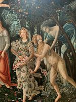 After Sandro Botticelli Large 20th Century Old Master Framed Coloured Print (3 of 13)