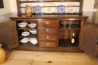 18th Century Oak Cupboard Dresser & Rack c.1760 (4 of 13)