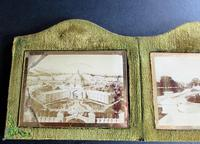 The 1907 Irish International Exhibition, Dublin Souvenir Photographs in Original Glass & Case (3 of 5)