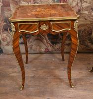 French Gilt Stool Antique Empire Seat c.1920 (5 of 7)