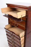 Tall & Slim Antique Edwardian Mahogany Music Cabinet (7 of 13)