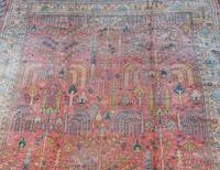 Antique Ushak Carpet 395x328cm (12 of 12)