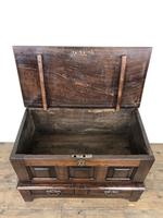 Antique Welsh Oak Coffer Bach (9 of 15)