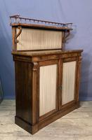 Rosewood William IV Chiffonier (4 of 7)