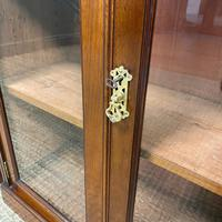 Pair of Victorian Walnut Antique Bookcases (2 of 7)