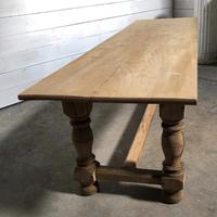 French large oak farmhouse dining table (29 of 38)