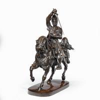 Italian Bronze Equestrian Sculpture of Emanuele Filiberto, Duke of Savoia, by Baron Carlo Marochetti (6 of 17)