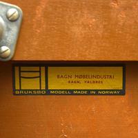 Vintage Rosewood Record / Magazine Rack by Bruksbo (10 of 10)